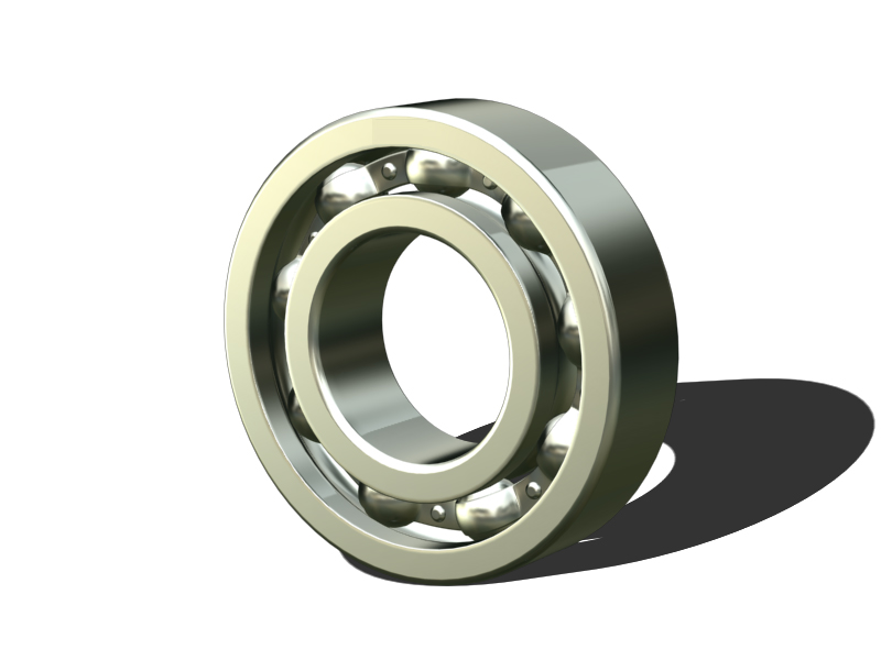 Inch size ball bearings Open type