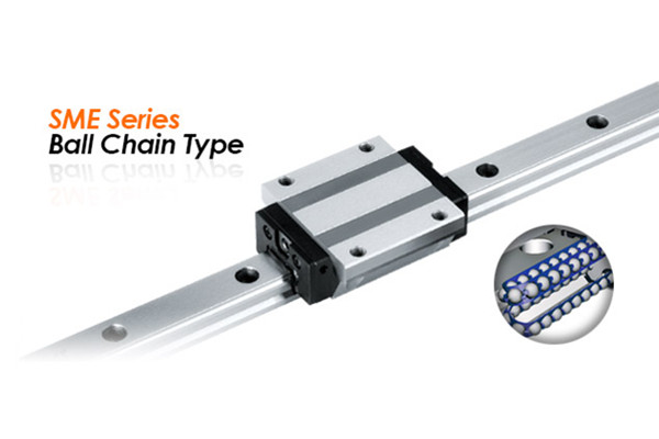 PMI Linear Guide SME Series Ball Chain Types
