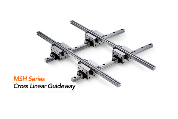 PMI MSH Series Cross Linear Guideway