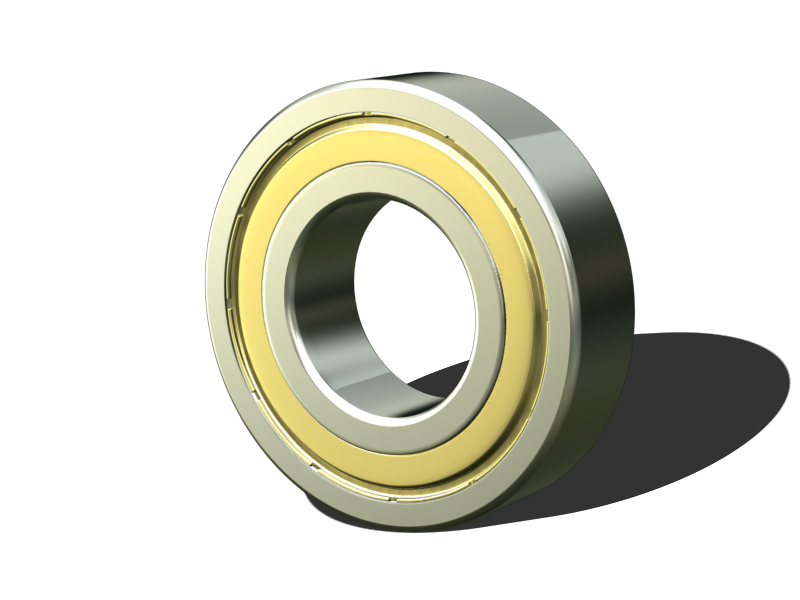 Metal Seal Miniature ball bearing